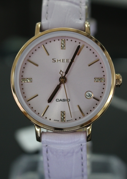 Đồng hồ Casio Sheen SHE-4048PGL-6AUDR