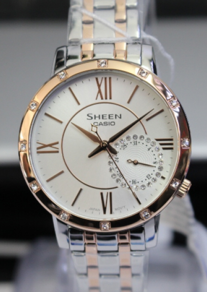 Đồng hồ nữ Casio Sheen SHE-3046SGP-7AUDR