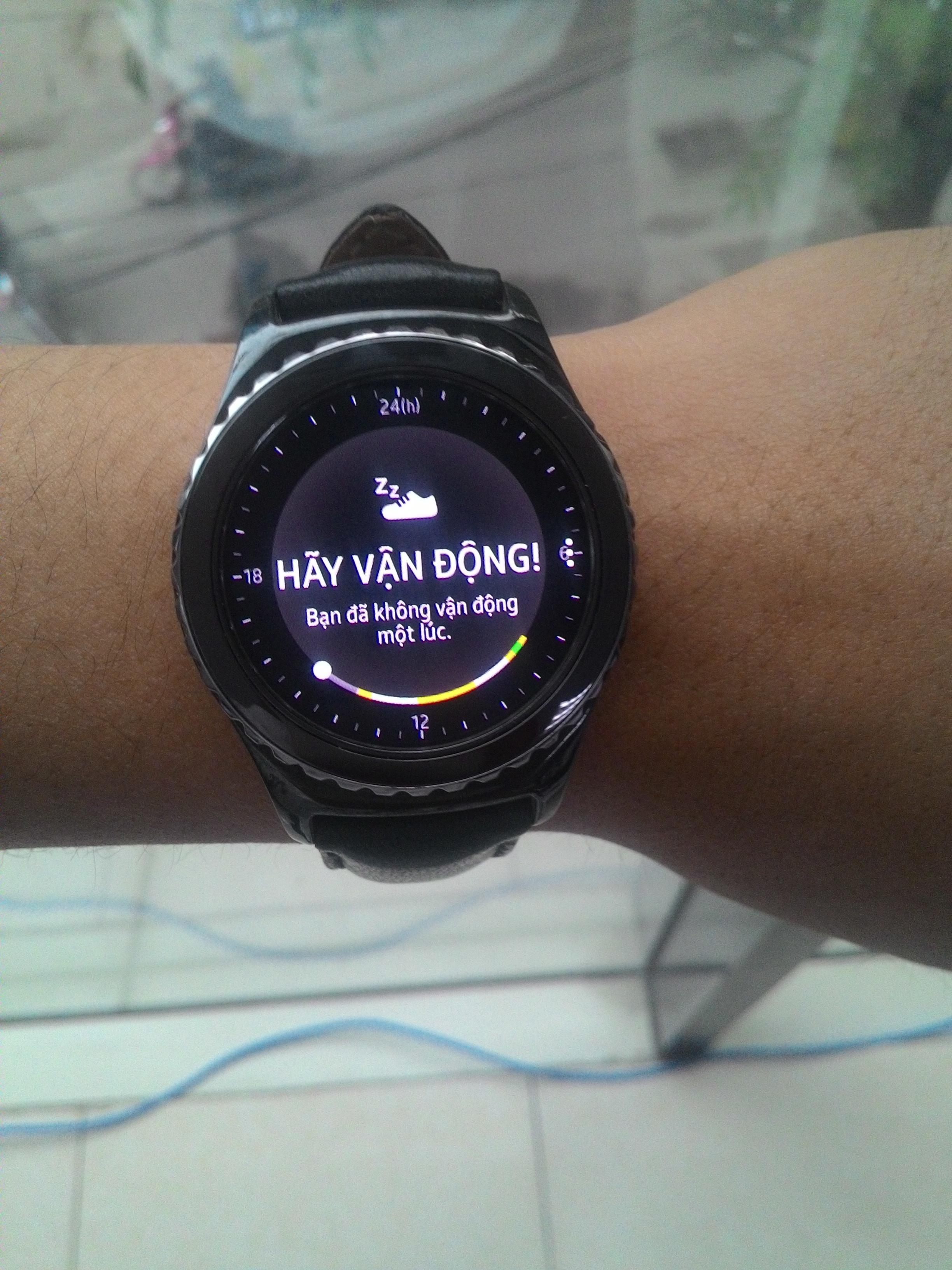 Thực tế chức năng nhắc vận động của đồng hồ
