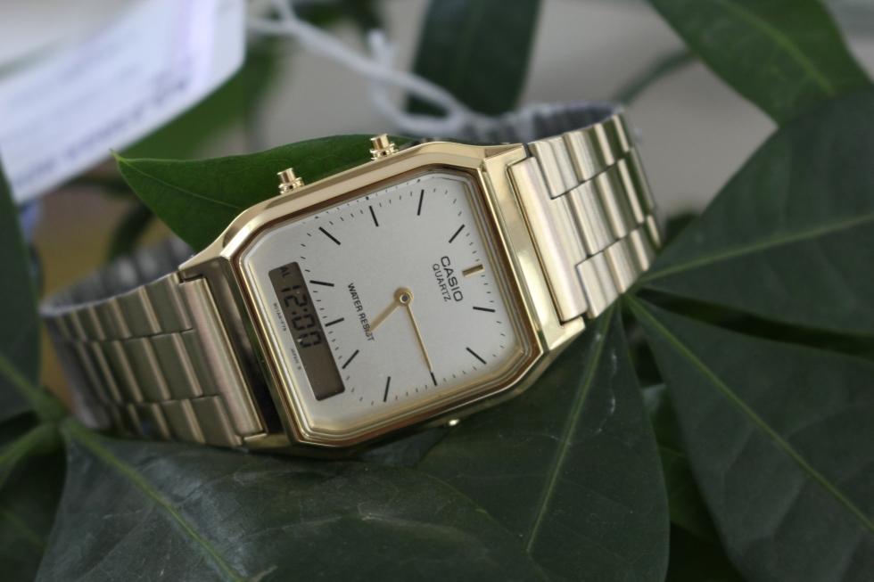 Đồng hồ nam đẹp giá 1 triệu Casio AQ-230GA-9DMQ