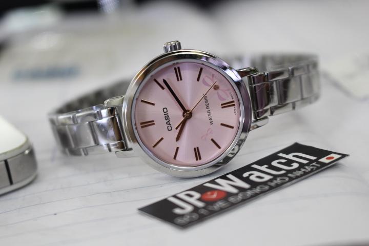 đồng hồ casio màu hồng
