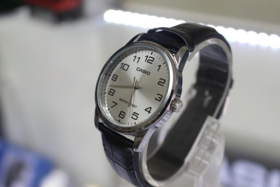 Đồng hồ Casio nam MTP-V001L-7BUDF giá rẻ dây da