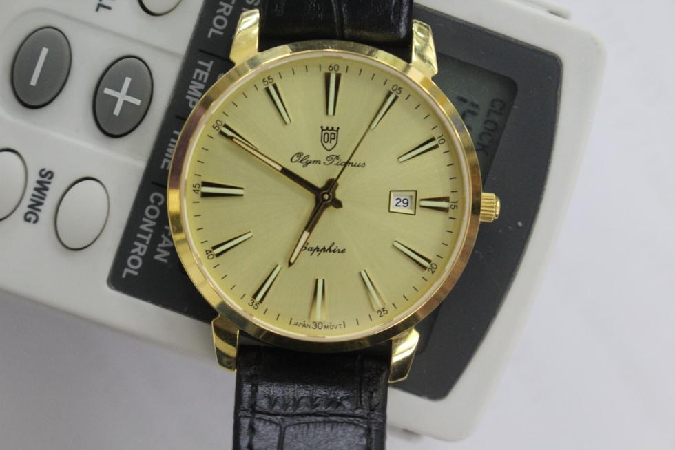 1 Chiếc đồng hồ sử dụng máy Nhật và được ghi Japan Movt