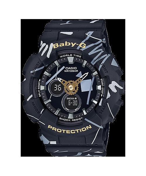 ĐỒNG HỒ CASIO BABY-G BA-120SC-1ADR màu đen