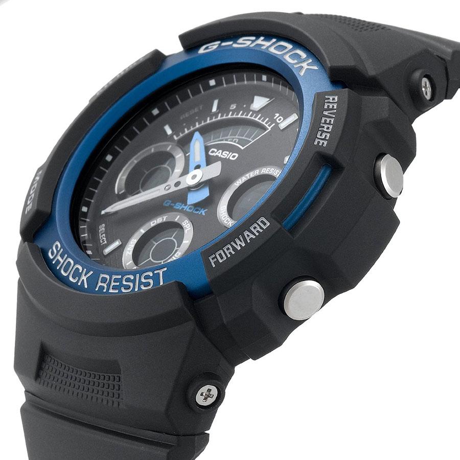 Những đường nét góc cạnh và tinh tế của mẫu đồng hồ G-Shock AW-591-2ADR