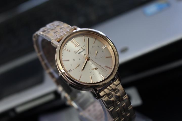 đồng hồ casio dây thép cho nữ