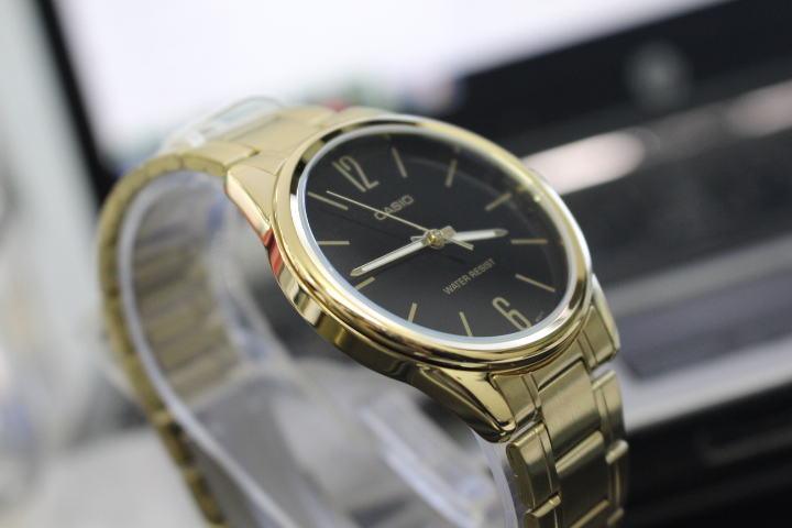 đồng hồ casio nam mạ vàng