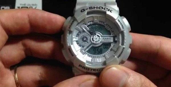 Nút A trên đồng hồ Gshock