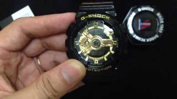 Chỉnh giờ cho đồng hồ Gshock