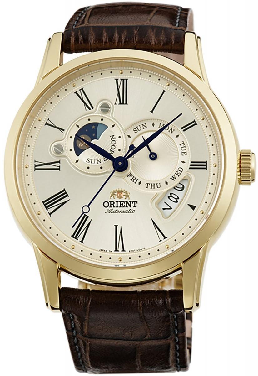 Đẳng cấp cùng chiếc đồng hồ Orient nam SET0T005Y0