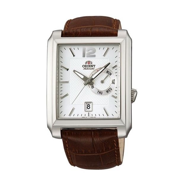 Đồng hồ nam dây da mặt vuông chính hãng Orient