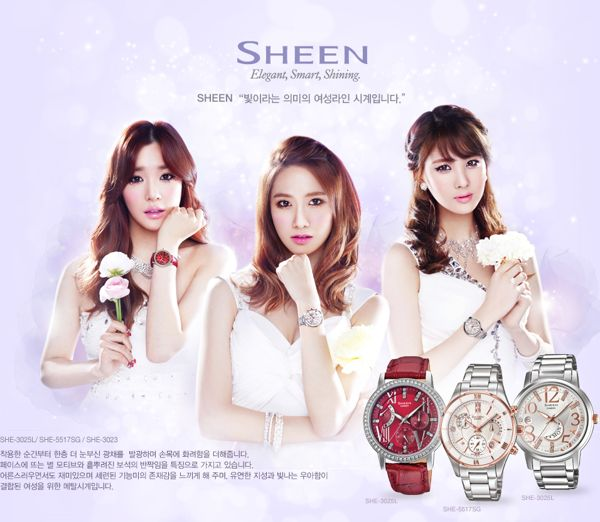 Đồng hồ nữ Casio Sheen tại JPWatch