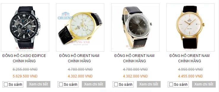 Thị trường đồng hồ nam chính hãng đang nhiễu loạn