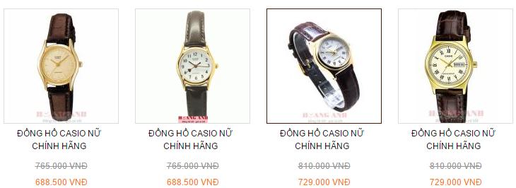 Xu hướng 2016 là đồng hồ nữ dây da cao cấp