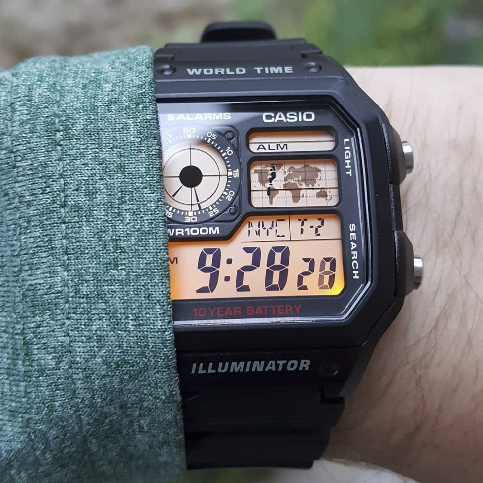 Casio là thương hiệu đồng hồ hàng đầu tại Nhật Bản và đã được người Việt tin dùng từ rất lâu
