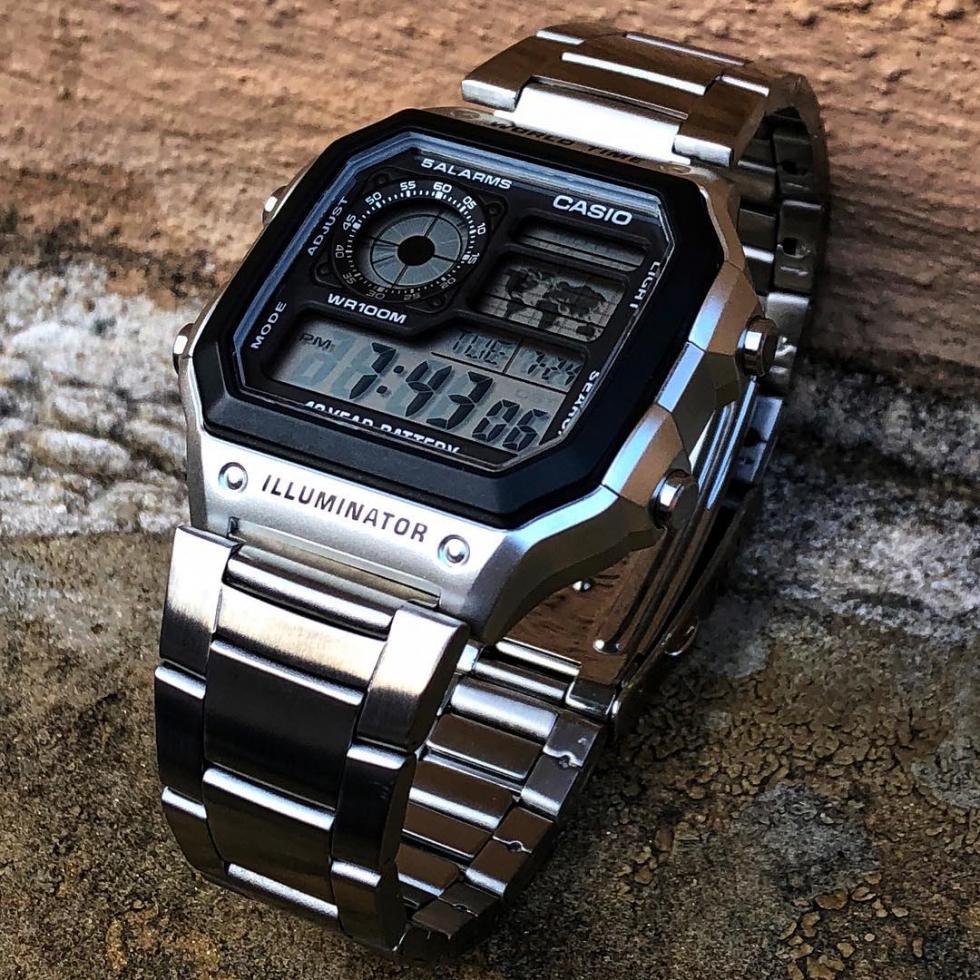 Đồng hồ Casio Illuminator được rất nhiều người dùng ưa chuộng vì tiện lợi