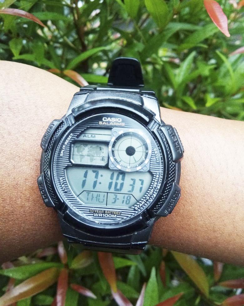 Không chỉ có ưu điểm pin chạy được 10 năm, những mẫu đồng hồ Casio này còn có nhiều chức năng khác