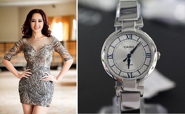 Phối đồng hồ nữ Casio với thời trang quyến rũ