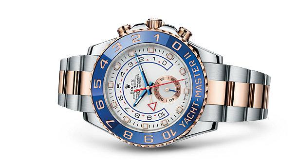 Kim chỉ phút của dòng đồng hồ Rolex Yacht Master