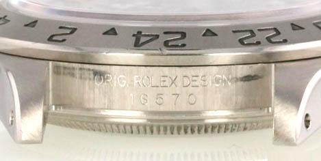 Mã Serial và số tham chiểu trên đồng hồ Rolex xịn