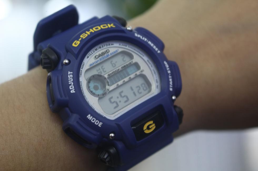 Toàn cảnh chiếc đồng hồ CASIO G-SHOCK DW-9052-2VDR