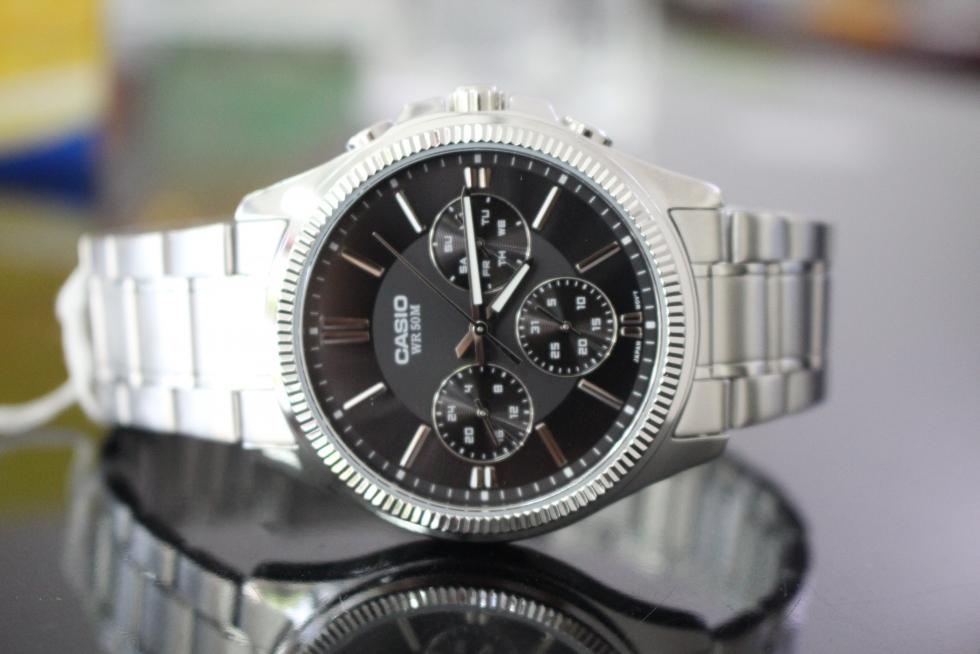 Đồng hồ nam 6 kim Casio MTP-1375D-1AVDF