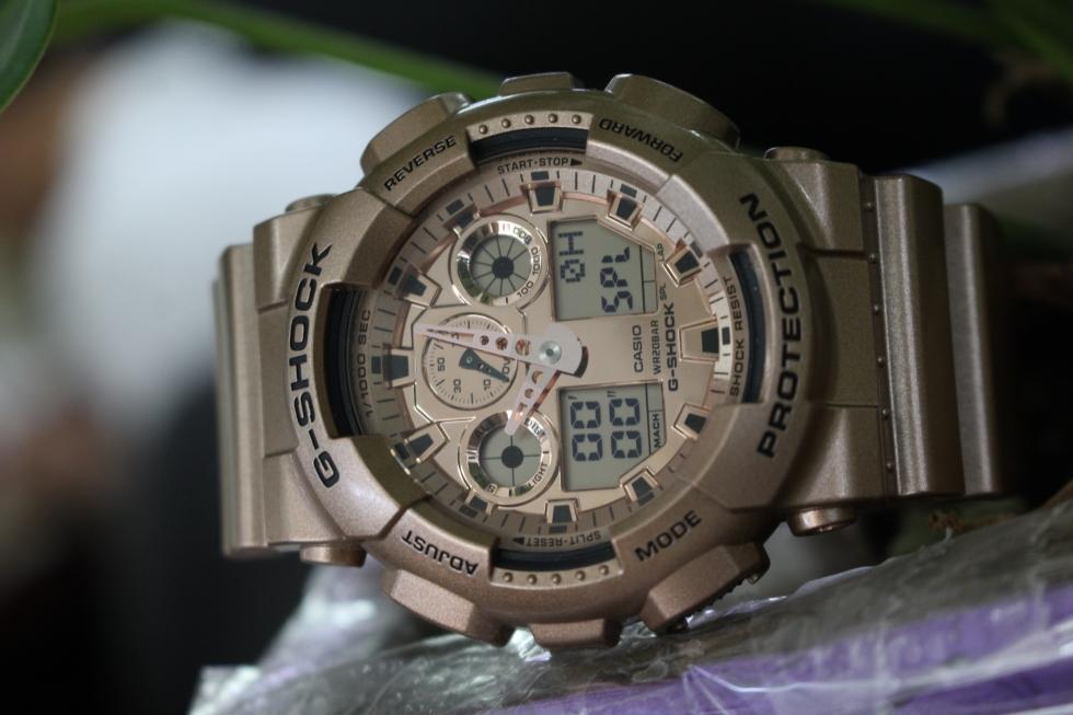 Đồng hồ Casio G - Shock GA-100GD-9ADR