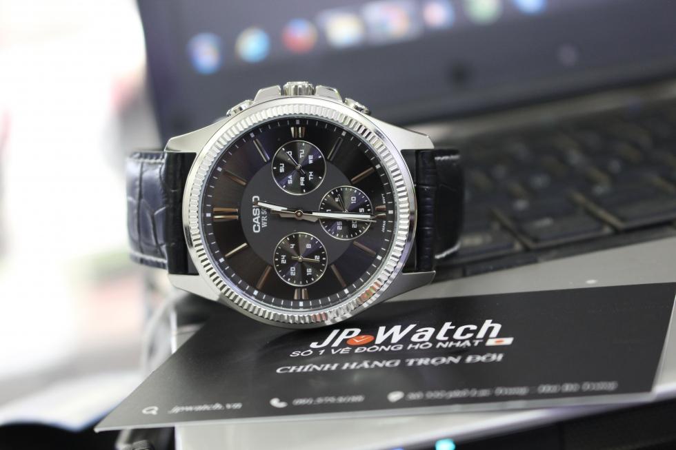 Thiết kế đầy cá tính của mẫu đồng hồ nam Casio MTP-1375L-1AVDF