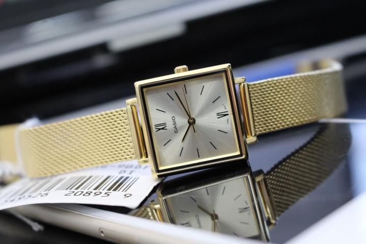 đồng hồ casi dây thép cho nữ