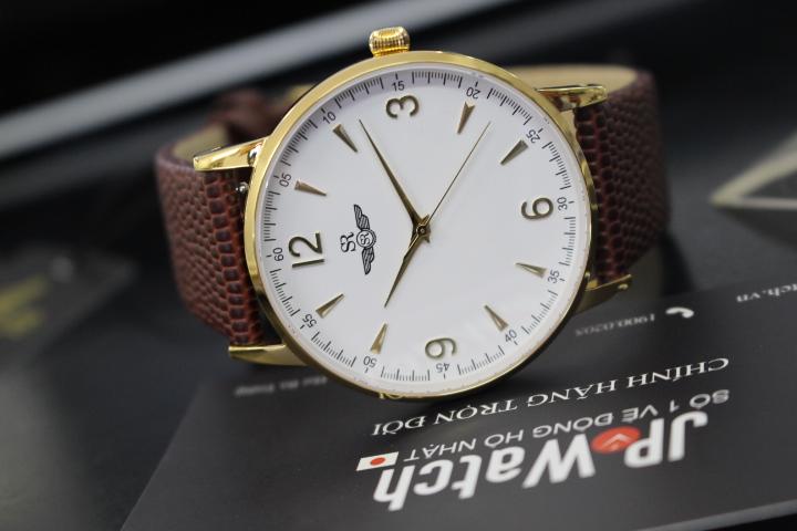 đồng hồ nam siêu mỏng chính hãng sunrise