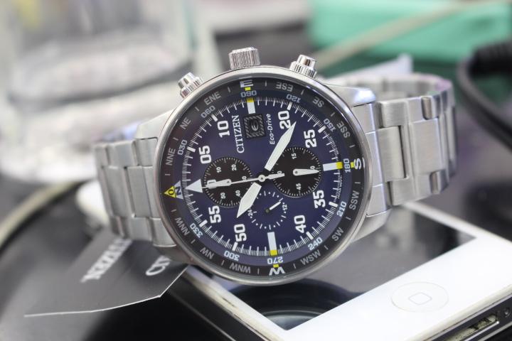 Phong cách thể thao của đồng hồ Citizen nam Eco-Drive CA0690-88L
