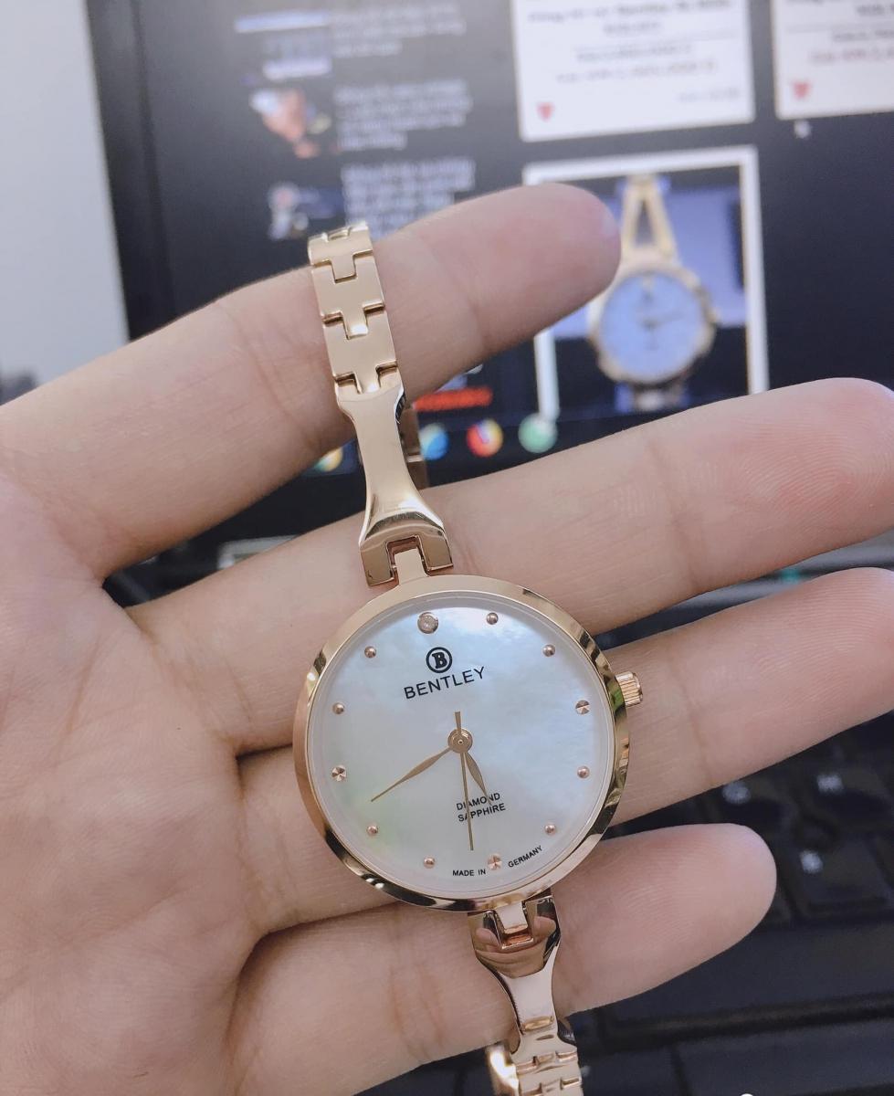 Thiết kế điệu đà của đồng hồ Bentley nữ BL1859-102LRCI