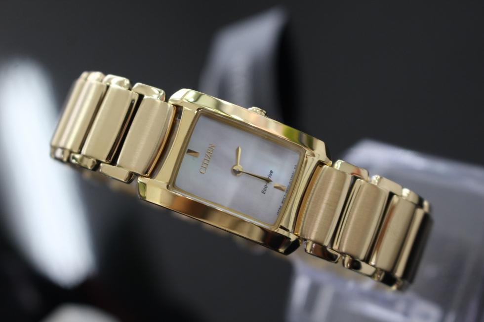 Đồng hồ Citizen nữ Eco – Drive EG2973-55D