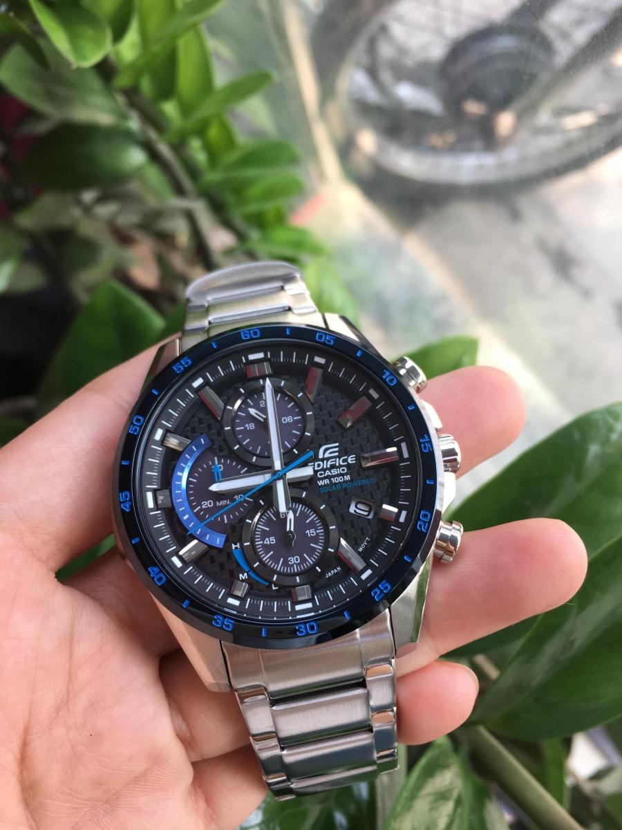 đồng hồ nam mặt tròn dây kim loại