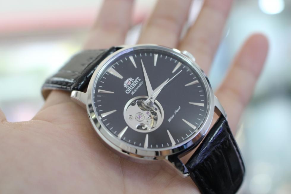 Đồng hồ cơ lộ máy nam Orient FDB08004B0