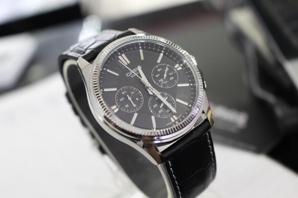 Đồng hồ nam đẹp giá 1 triệu Casio MTP-1375L-1AVDF