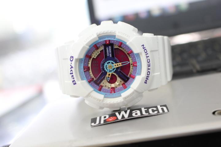 Vẻ thể thao của đồng hồ Casio nữ Baby-G BA-112-7ADR