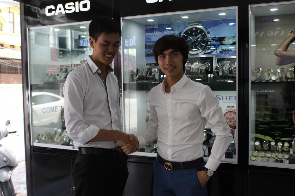 anh Lê Nam cũng là 1 trong những vị khách hàng thân quen của chúng tôi