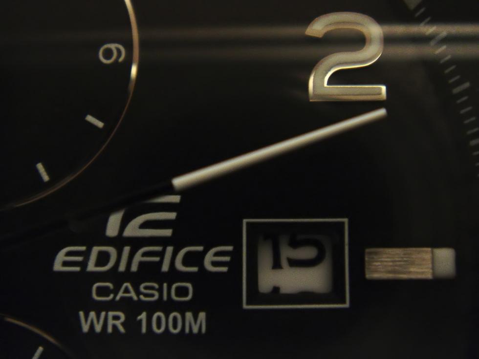 Cách chỉnh ngày đồng hồ Casio Edifice