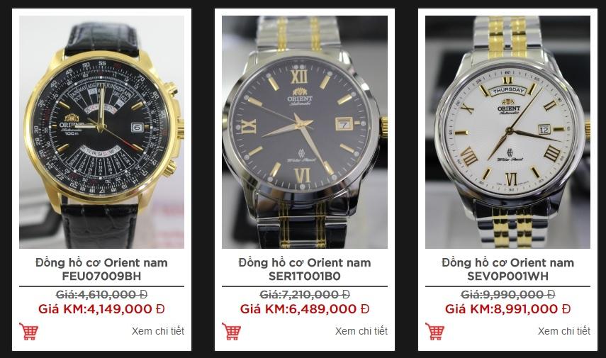 Chọn đồng hồ cơ theo mức giá