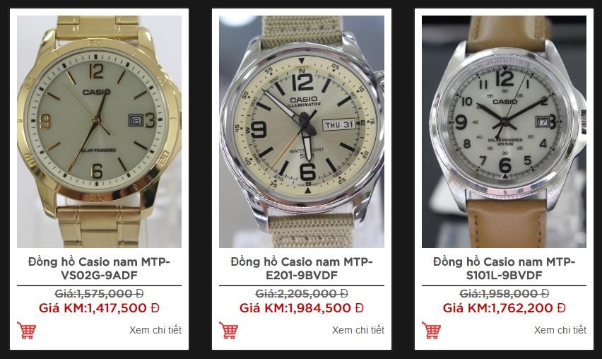 Nam giới thường thích những mẫu đồng hồ có kiểu dáng mạnh mẽ, thời trang
