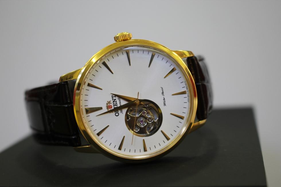 Đồng hồ nam cơ lộ máy Orient FDB08003W0