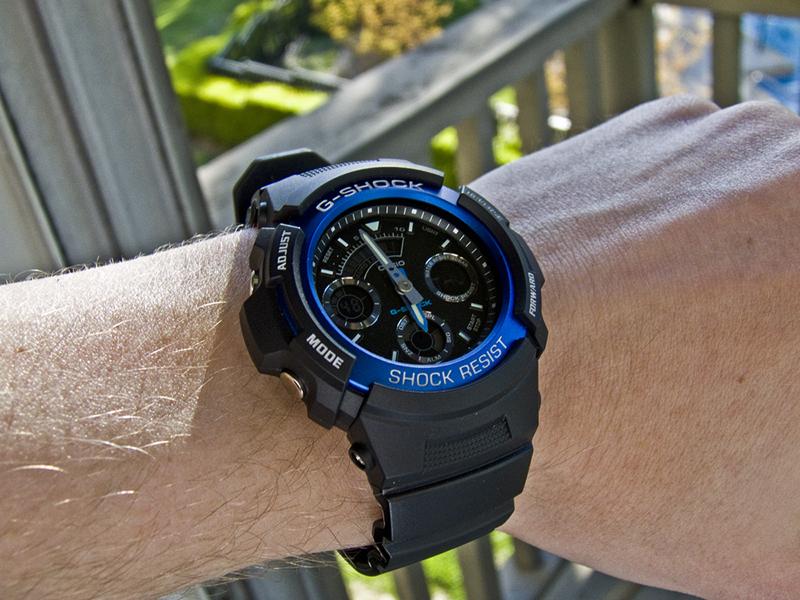 Vẻ cá tính và trẻ trung của chiếc đồng hồ Casio G-Shock AW-591-2ADR