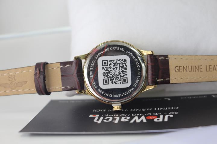 Đồng hồ nữ SR Watch SL1056.4602TE luôn có tem chống hàng giả