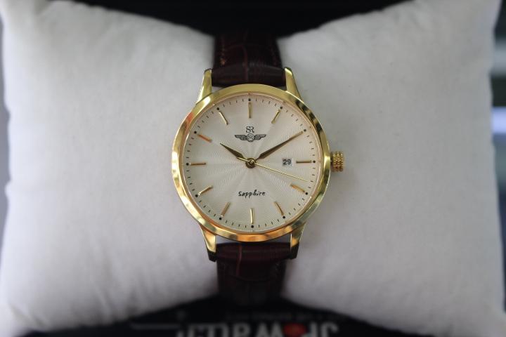 Góc chụp chính diện đồng hồ nữ SR Watch SL1056.4602TE