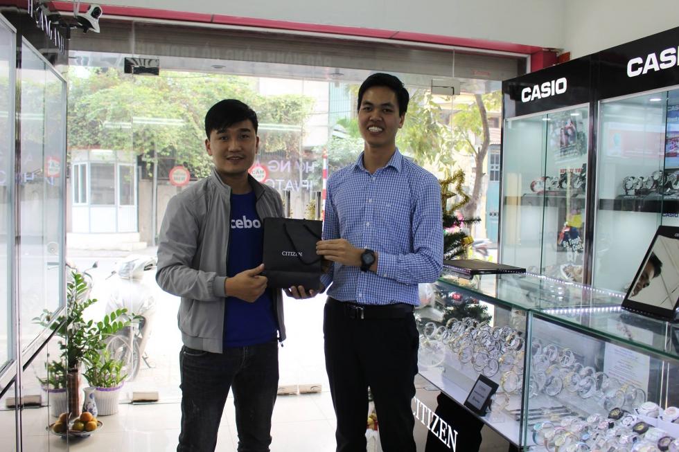 anh Lê Thanh Sang là 1 trong những khách hàng thân thuộc của JPWatch
