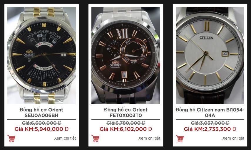 Một số mẫu đồng hồ nam theo xu hướng mới nhất 2016