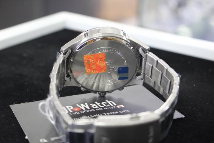 tem chống hàng giả của đồng hồ nam Casio Edifice EFV-520D-7AVUDF