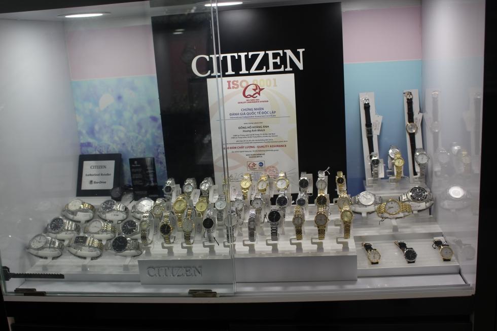 1 vài mẫu đồng hồ Citizen có mức giá khoảng 3 triệu đồng