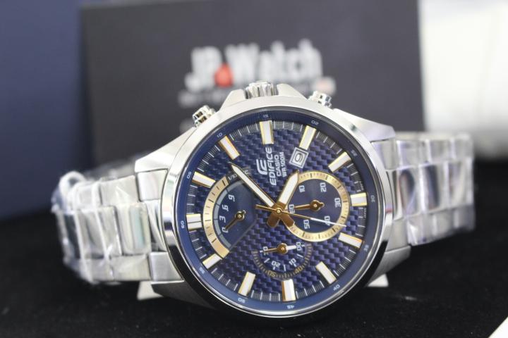 vẻ đẹp đầy nam tính của đồng hồ nam Casio Edifice EFV-530D-2AVUDF